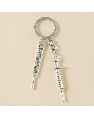 Syringe Charm Keychain