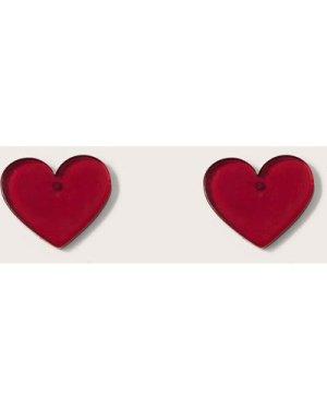 1pair Heart Shaped Stud Earrings