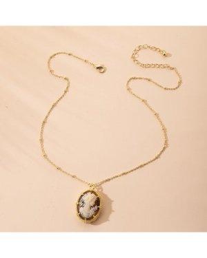 Figure Charm Necklace