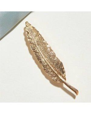 1pc Leaf Design Brooch