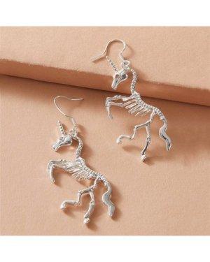 1pair Unicorn Drop Earrings