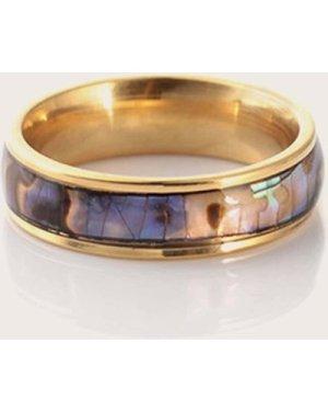 Abalone Pattern Ring