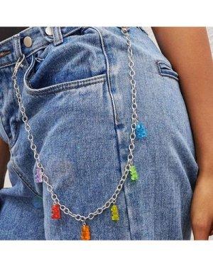 1pc Bear Charm Pant Chain