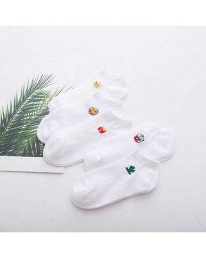 Graphic Detail Socks 5pairs