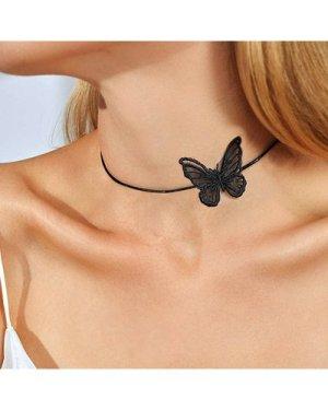 Butterfly Decor Choker 1pc