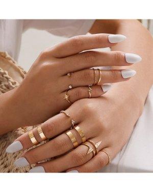 11pcs Skinny Ring Pack