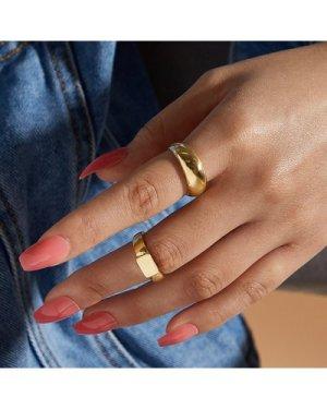 2pcs Metallic Ring
