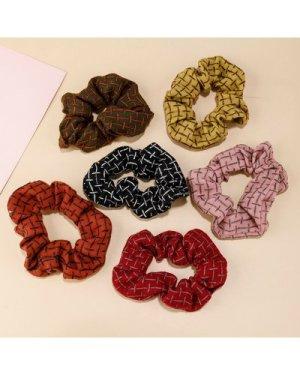 6pcs Minimalist Scrunchies