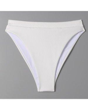 Rib High Waisted Bikini Panty
