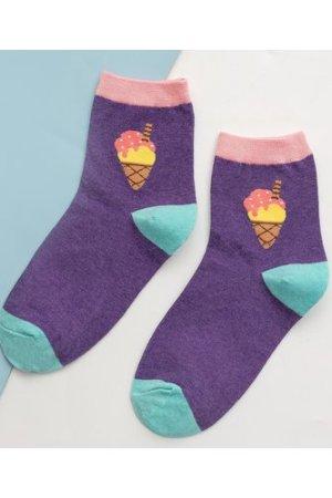 Ice Cream Pattern Socks