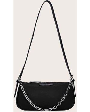 Minimalist Tote Bag With Chain Handle
