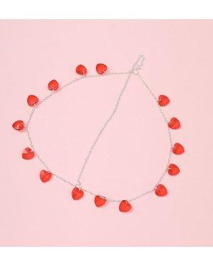 Heart Charm Head Chain
