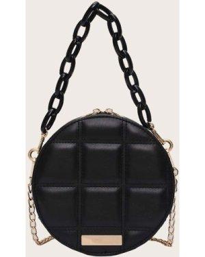 Round Shaped Satchel Bag