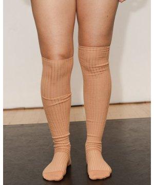 Overknee Socks - Cotton Rib