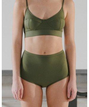 Highwaist Bell Pants - Bamboo Jersey Elast