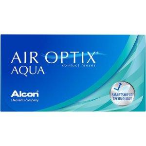 Air Optix Aqua 6 pack Contact Lenses