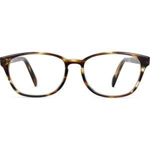 Clemens eyeglasses in striped sassafras (Non-Rx)
