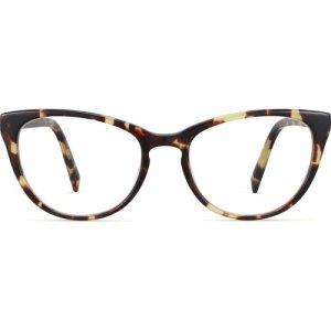 Shea eyeglasses in Burnt Lemon Tortoise (Non-Rx)