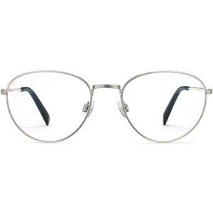Hawkins eyeglasses in Antique Silver (Non-Rx)