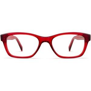 Sims eyeglasses in Cardinal Crystal (Non-Rx)