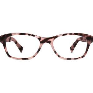 Sims Eyeglasses in Petal Tortoise Non-Rx