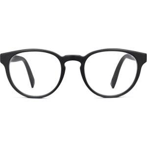 Percey Wide  eyeglasses in Black Matte (Non-Rx)