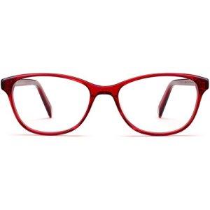 Daisy Extra Narrow eyeglasses in Cardinal Crystal (Non-Rx)