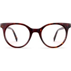 Jo eyeglasses in Fig Tortoise (Non-Rx)