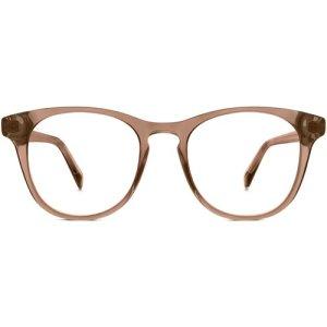 Bell eyeglasses in hazelnut crystal Non-Rx
