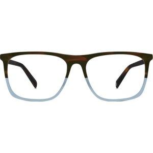 Fletcher Eyeglasses in Eastern Bluebird Fade Non-Rx