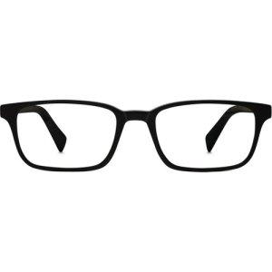 Wilkie Eyeglasses in Black Matte Eclipse Non-Rx