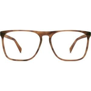 Moore Eyeglasses in Sandalwood Matte Non-Rx