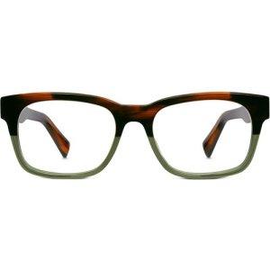 Beckett Eyeglasses in Saddle Sage Non-Rx