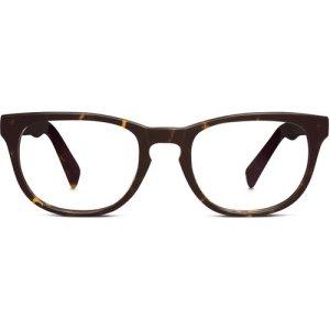 Preston Eyeglasses in Whiskey Tortoise Non-Rx