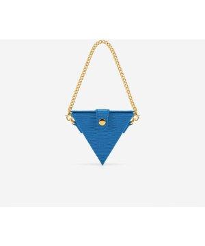 Triangle Mini Box - Classic Blue Lizard