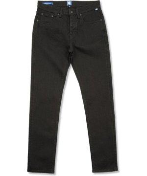 Erwood Slim Fit Jeans (Black Rinse, 32W 34L, Slim)
