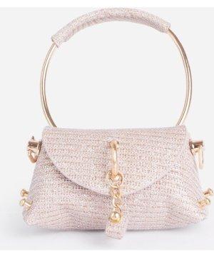Dance Mini Diamante Grab Bag In Pink