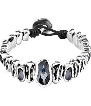 """""""grey as hell"""" bracelet"""