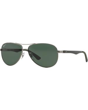 Ray-Ban RB8313 004/N5 Gunmetal /Green Polarised
