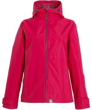 Weird Fish Tia Waterproof Jacket Dark Pink Size 22