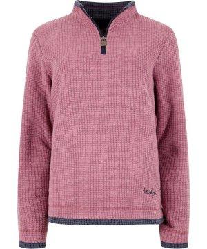 Weird Fish Beyonce 1/4 Zip Grid Fleece Sweatshirt Malaga Size 16