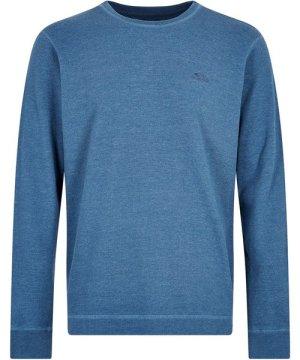 Weird Fish Madron Long Sleeve T-Shirt Denim Size 3XL