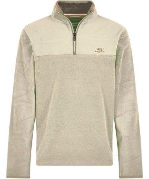 Weird Fish Rothay 1/4 Zip Fleece Sweatshirt Safari Size 5XL
