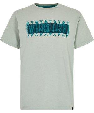 Weird Fish Mackie Graphic T-Shirt Pistachio Size 3XL