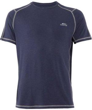 Weird Fish Morpheus Bamboo T-Shirt Navy Marl Size 5XL
