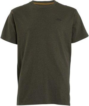 Weird Fish Fished T-Shirt Dark Olive Size L