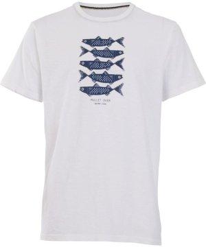 Weird Fish Mullet Over Organic Cotton T-Shirt White Size 2XL