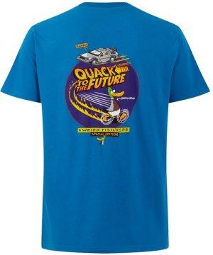 Weird Fish Quack RSPB Artist T-Shirt Storm Blue Size L