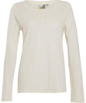 Weird Fish Carolina Organic Cotton Outfitter T-Shirt Light Cream Size 20