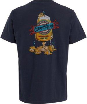 Weird Fish Clam Miguel Artist T-Shirt Navy Size XL